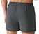 Rückansicht zu Boxer-Shorts mit Pünktchen ( 62122 ) der Marke Mey aus der Serie Modern Style