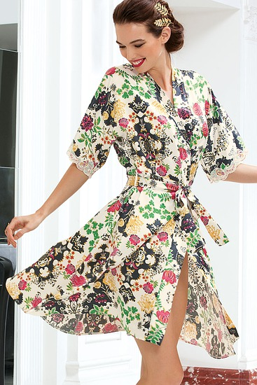 Abbildung zu Kimono Kurz (ALC2035) der Marke Lise Charmel aus der Serie Aria Pastel
