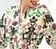 Vorderansicht zu Kimono Kurz ( ALC2035 ) der Marke Lise Charmel aus der Serie Aria Pastel
