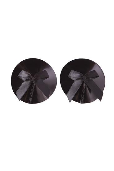 Abbildung zu Pasties mit Schleife, 2er-Pack (SIGN03B) der Marke Bordelle aus der Serie Black Signatures