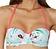 Vorderansicht zu Bandeau-Bikini-Oberteil ( CU06 ) der Marke Aubade aus der Serie Summer Joy