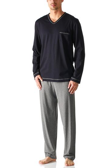 Abbildung zu Pyjama, lang Classic (25081) der Marke Mey Herrenwäsche aus der Serie Blue Night