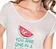 Vorderansicht zu T-Shirt, Melon ( 853065H ) der Marke Jockey aus der Serie Tasty Sunrise