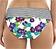 Rückansicht zu Bikini-Slip, umschlagbarer Bund ( SW0877 ) der Marke Panache aus der Serie Elle