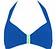 Vorderansicht zu Neckholder-Bikini-Oberteil ( 7493483 ) der Marke Lidea aus der Serie Colour Play