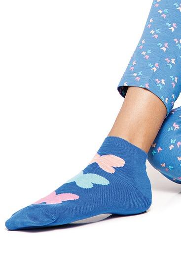 Abbildung zu Socken (61032) der Marke Cheek aus der Serie Papillons