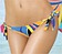 Vorderansicht zu Bikini-Slip mit Schnürung ( EBA0127 ) der Marke Antigel aus der Serie La Sporty Tropique