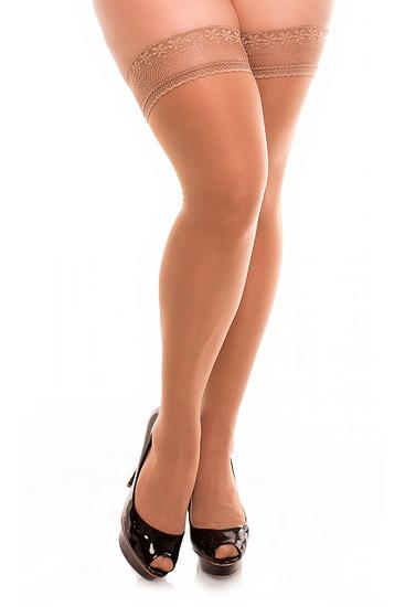 Abbildung zu Vital 70 Halterlose Stützstrümpfe (50117) der Marke Glamory aus der Serie Halterlose und Straps-Strümpfe