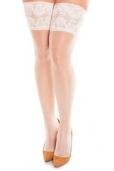 Abbildung zu Deluxe 20 Halterlose Strümpfe (50111) der Marke Glamory aus der Serie Halterlose und Straps-Strümpfe
