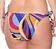Rückansicht zu Bikini-Slip mit Schnürung ( EBA0127 ) der Marke Antigel aus der Serie La Sporty Tropique