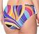 Rückansicht zu Bikini-Slip mit Tunnelzug ( FBA0627 ) der Marke Antigel aus der Serie La Sporty Tropique