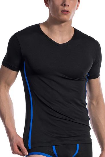 Abbildung zu T-Shirt, V-Neck regular (107434) der Marke Olaf Benz aus der Serie Red 1604