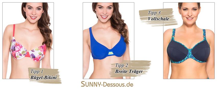 Tipps für Frauen mit großen Brüsten