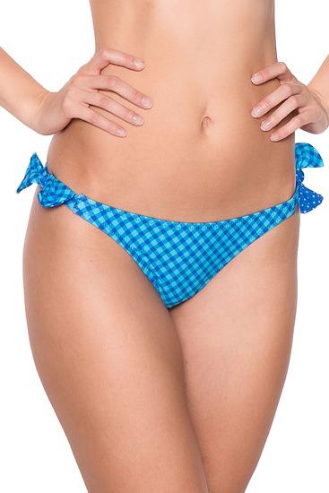 Abbildung zu Bikini-Slip mit Schnürung (EBA0187) der Marke Antigel aus der Serie La Bomb Vichy
