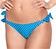Vorderansicht zu Bikini-Slip mit Schnürung ( EBA0187 ) der Marke Antigel aus der Serie La Bomb Vichy