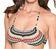 Vorderansicht zu Bikini-Set ( 42860 ) der Marke Cheek aus der Serie Zig Zag