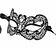 Vorderansicht zu Maske ( 0254 ) der Marke Escora aus der Serie Selma