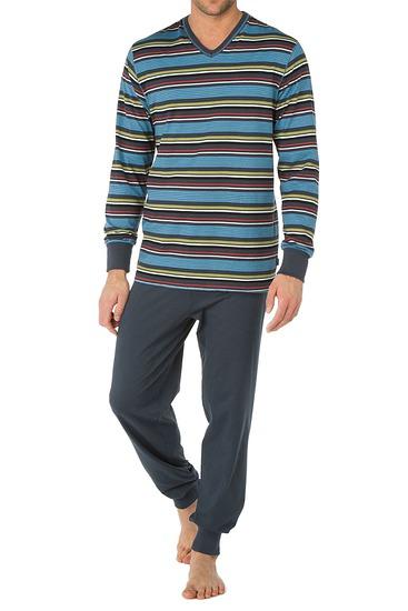Abbildung zu Pyjama mit Bündchen (47262) der Marke Calida aus der Serie Brooklyn