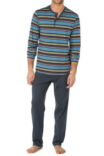 Abbildung zu Pyjama mit Knopfleiste (47162) der Marke Calida aus der Serie Brooklyn