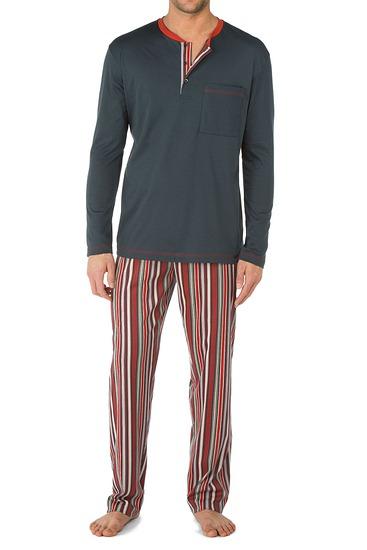 Abbildung zu Pyjama, lang (41363) der Marke Calida aus der Serie Long Island