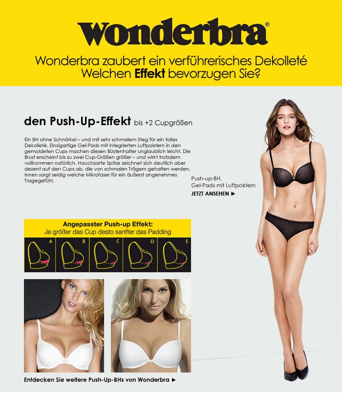 Wonderbra Push-Up-Effect