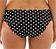 Rückansicht zu Bikini-Slip, geraffte Seiten ( SW1019 ) der Marke Panache aus der Serie Anya Spot
