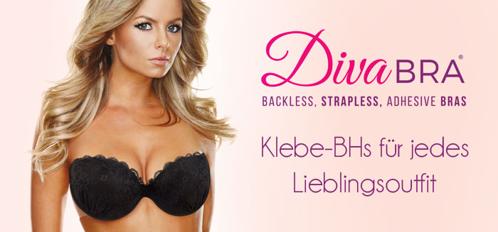 DivaBra - Klebe-BHs f�r jedes Outfit