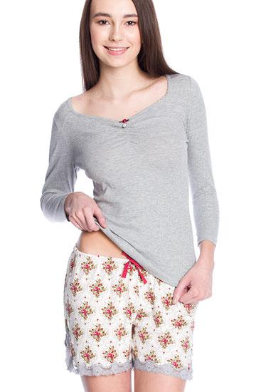 Abbildung zu Cottage Girl Short Pyjama (33332) der Marke Vive Maria aus der Serie Cottage Garden