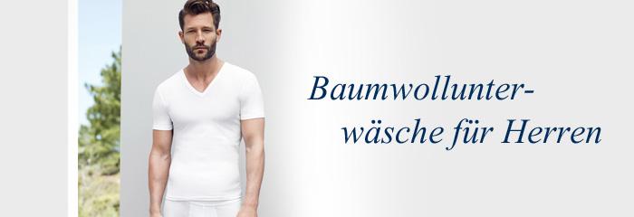 Wäsche aus Baumwolle für den Mann