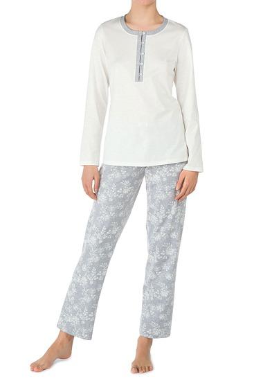 Abbildung zu Pyjama mit Knopfleiste (45326) der Marke Calida aus der Serie Montrose