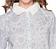 Vorderansicht zu Daaltje Spring to life Nightdress long sleeve ( 260480-328 ) der Marke Pip Studio aus der Serie Pip Homewear 2016