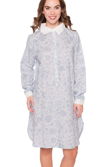 Abbildung zu Daaltje Spring to life Nightdress long sleeve (260480-328) der Marke PIP-Studio aus der Serie Pip Homewear 2016