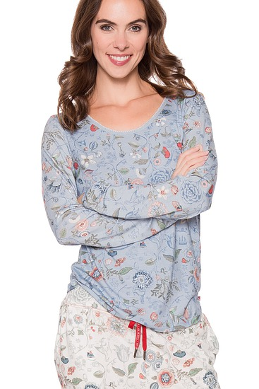 Abbildung zu Trixy Spring to life Top Long Sleeve (260504-307) der Marke Pip Studio aus der Serie Pip Homewear 2016