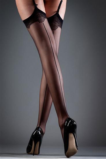 Abbildung zu Stockings Back seam (35045) der Marke Bluebella aus der Serie Hosiery
