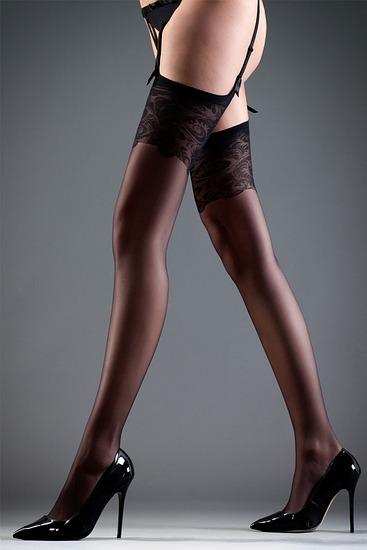 Abbildung zu Stockings Lace black (35043) der Marke Bluebella aus der Serie Hosiery