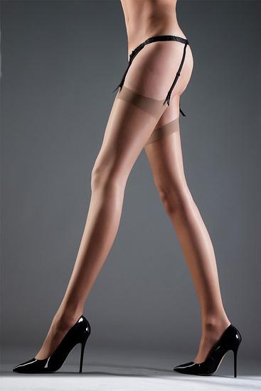 Abbildung zu Stockings Plain nude (35042) der Marke Bluebella aus der Serie Hosiery