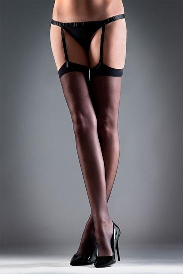 Abbildung zu Stockings Plain black (35041) der Marke Bluebella aus der Serie Hosiery