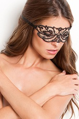 Lucky Cheeks Luxury String Edition Golden Diamond Maske