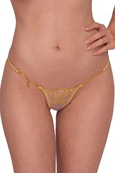 Lucky Cheeks Luxury String Edition Queen of Love String Gold