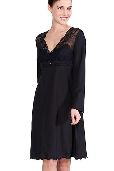 Abbildung zu Nachtkleid kurz, Spitze (1163576) der Marke Rösch aus der Serie Seduction in Black