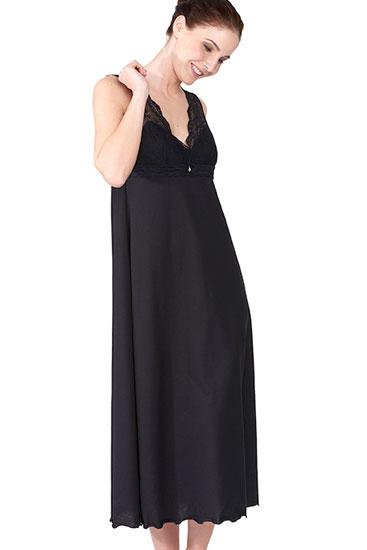 Abbildung zu Nachtkleid, ärmellos (1163577) der Marke Rösch aus der Serie Seduction in Black
