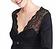 Vorderansicht zu Pyjama lang, Spitze ( 1163578 ) der Marke Rösch aus der Serie Seduction in Black