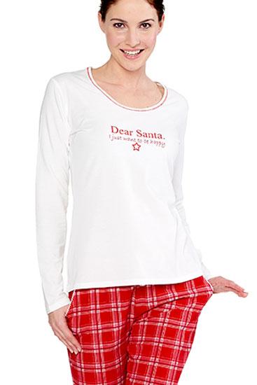 Abbildung zu Shirt langarm, Motivdruck (2163352) der Marke Bee Happy aus der Serie Dear Santa - Bee Happy