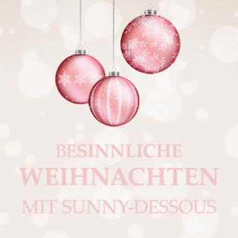 Besinnliche Weihnachten mit Sunny-Dessous