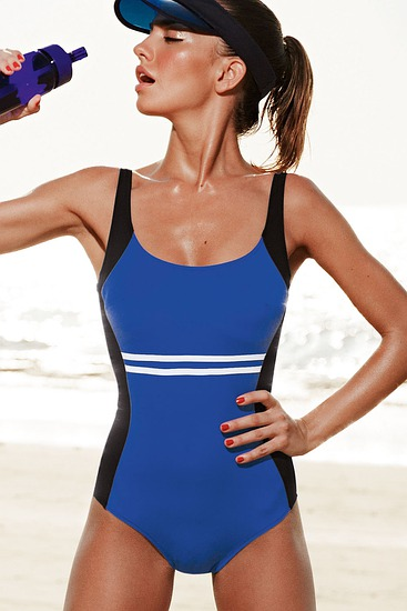 Abbildung zu Badeanzug Finja French Blue (L7 7720) der Marke Rosa Faia aus der Serie Badeanzüge