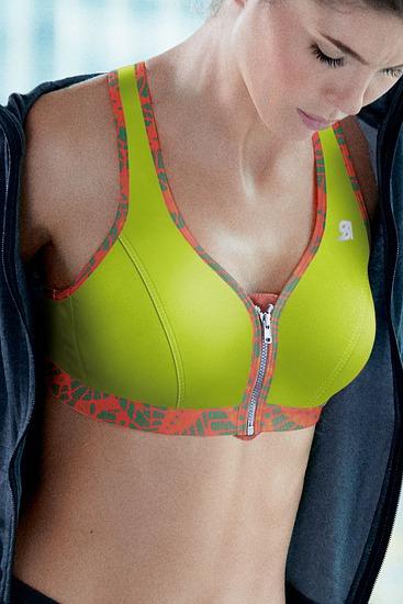 Abbildung zu Sport-BH, Active Front Zip (336002) der Marke Shock Absorber aus der Serie Sport-BHs