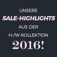 SALE Herbst Wintersaison