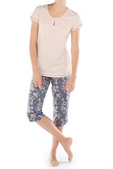 Calida Brighton Pyjama 3/4