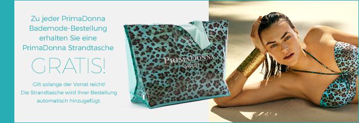 Strandtasche gratis zu Bademode von PrimaDonna