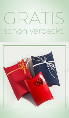 Gratis und schön verpackt!